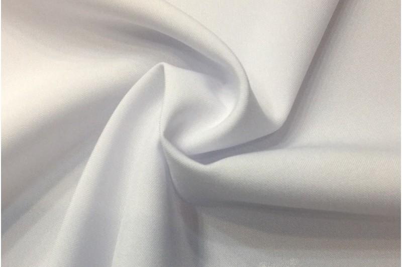 Купить ткань Габардин (белый) оптом