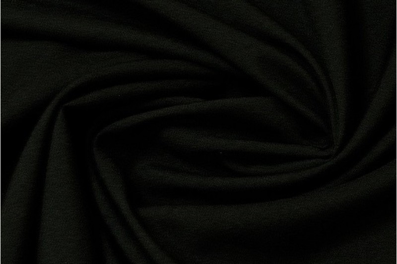 Купить ткань Габардин (черный) оптом