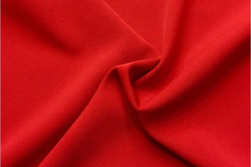 Купить ткань Габардин (красный) оптом