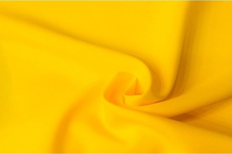 Купить ткань Габардин (желтый) оптом