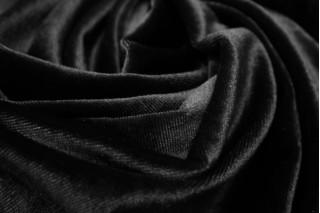 Купить ткань Бархат (черный) оптом
