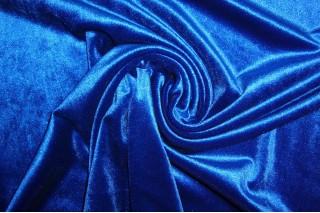Купить ткань Бархат (синий) оптом
