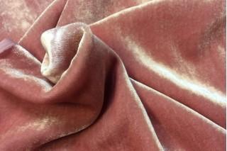 Купить ткань Бархат (пудра) оптом
