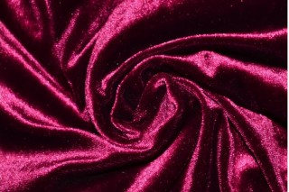 Купить ткань Бархат (сиреневый) оптом
