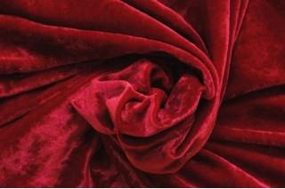 Купить ткань Бархат (вишневый) оптом
