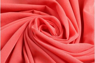 Купить ткань Бенгалин (коралл) оптом
