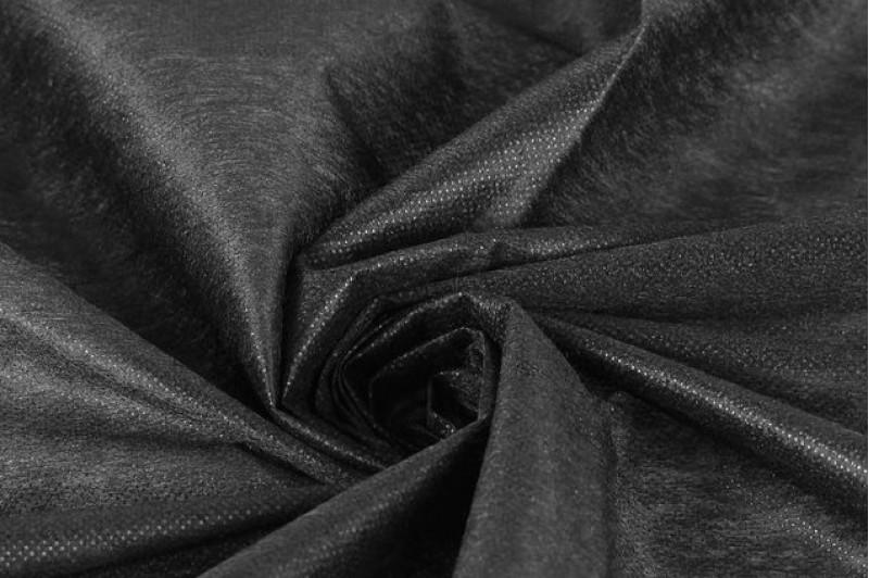 Купить ткань Флизелин (черный) оптом и в розницу