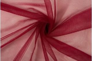 Купить ткань Фатин (бордо) мягкий оптом