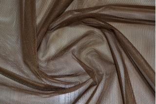 Купить ткань Фатин (коричневый) мягкий оптом