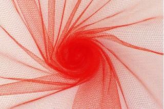 Купить ткань Фатин (красный) мягкий оптом