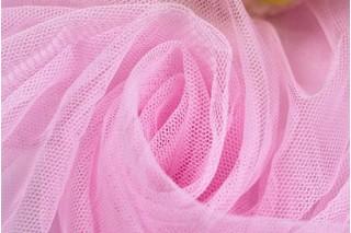 Купить ткань Фатин (розовый) оптом