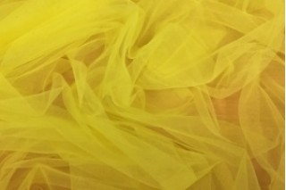 Купить ткань Фатин (желтый) оптом