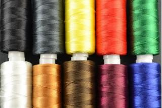 Купить ткань Нитка маленькие (2000 ярд) оптом и в розницу