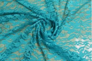 Купить ткань Гипюр (голуб.бирюза) оптом