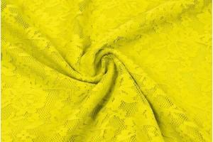 Гипюр (желтый)