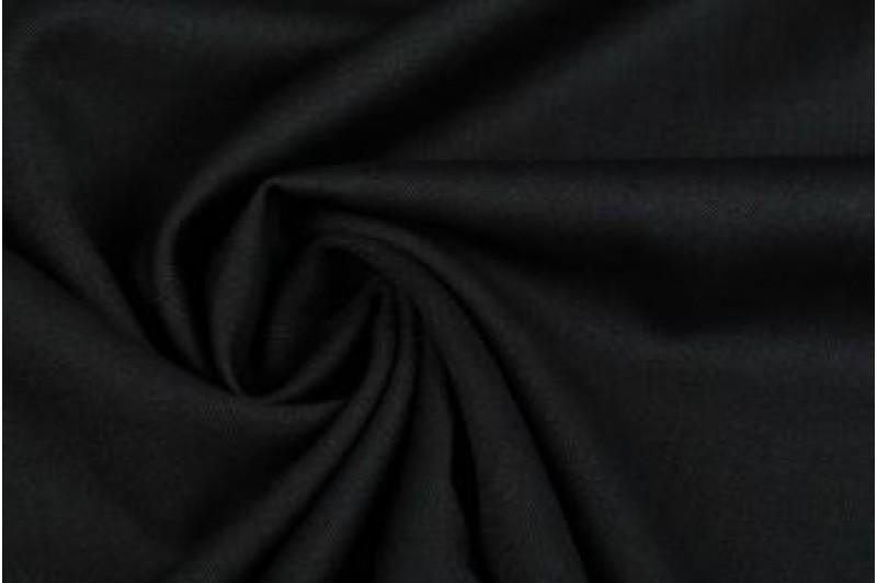 Купить ткань Креп-костюмка (черный) оптом