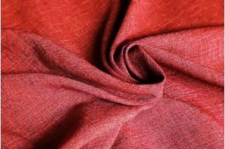 Купить ткань Лен габардин (малина) оптом