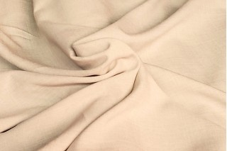 Купить ткань Лен габардин (коричневый) оптом