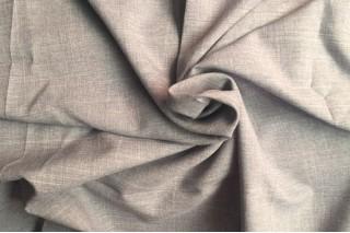 Купить ткань Лен габардин (светло-серый) оптом