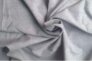 Купить ткань Лен габардин (светло-серый2) оптом