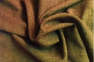 Купить ткань Лен габардин (оливковый) оптом