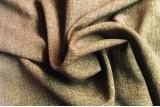 Лен габардин (коричневый)
