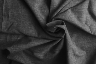 Лен габардин (серый2) фото ткани