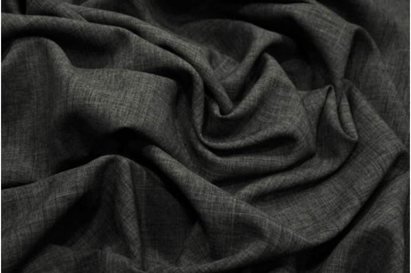 Купить ткань Лен габардин (серый1) оптом