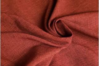 Купить ткань Лен габардин (вишня) оптом