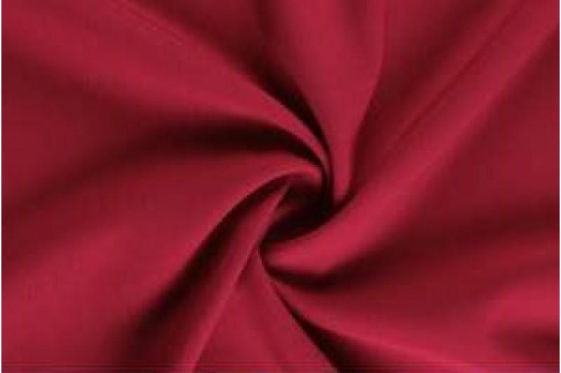 Купить ткань Креп-костюмка (вишневый) оптом и в розницу