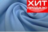 Креп-костюмка (светло-голубая)