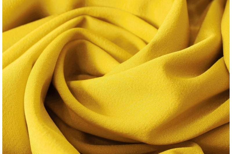Купить ткань Мадонна (желтый) оптом