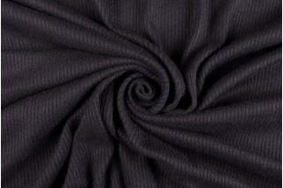 Купить ткань Рибана (черная) оптом и в розницу
