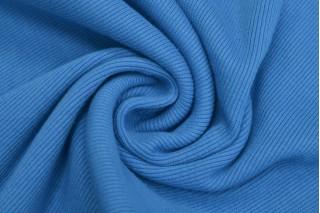 Купить ткань Рибана (голубая) оптом и в розницу