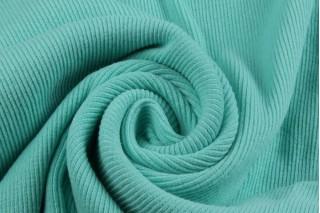 Купить ткань Рибана (мята) оптом и в розницу