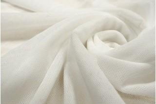Купить ткань Сетка стрейч (белая) оптом