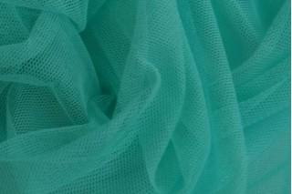 Купить ткань Сетка стрейч (бирюза) оптом