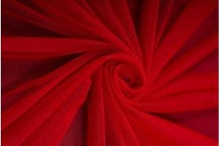 Купить ткань Сетка стрейч (красная) оптом