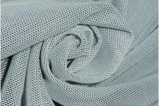 Купить ткань Сетка стрейч (серый) оптом