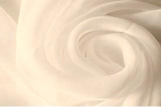 Купить ткань Шифон (молочный) оптом