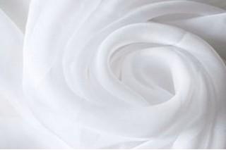 Купить ткань Креп шифон (белый) оптом