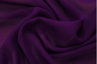 Купить ткань Шифон (фиолетовый) оптом