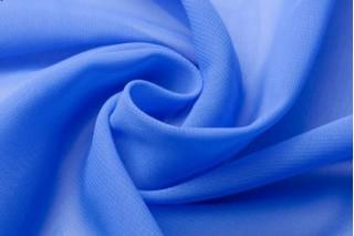Купить ткань Шифон (голубой) оптом