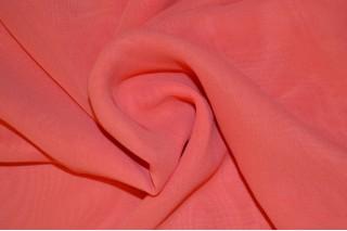 Купить ткань Шифон (коралл) оптом
