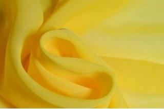 Купить ткань Шифон (лимонный) оптом