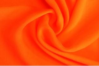Купить ткань Шифон (оранжевый) оптом