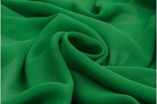 Купить ткань Шифон (зеленый) оптом