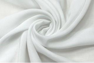 Купить ткань Штапель (белый) оптом и в розницу