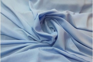 Купить ткань Штапель (голубой) оптом и в розницу