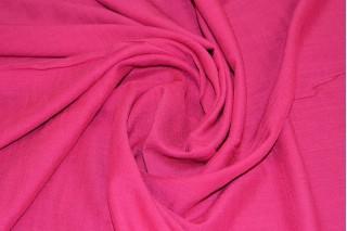 Купить ткань Штапель (малиновый) оптом и в розницу